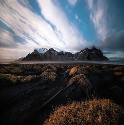 the Beauty of Iceland Print by Larry Marshall