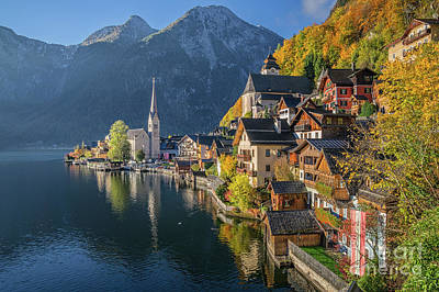 Hallstatt Photograph - The Beauty Of Imperfection by JR Photography