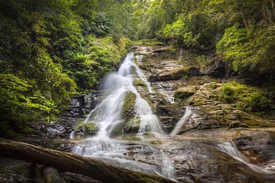 The Beauty Of Waterfalls Print by Debra and Dave Vanderlaan