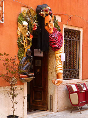 Sienna Italy Photograph - The Beauty Salon by Connie Handscomb