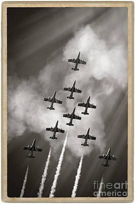 The Best Aerobatic Team Print by Stefano Senise