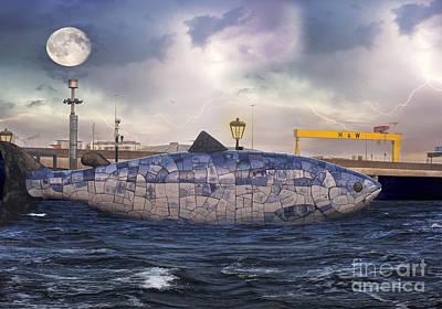 The Big Fish Print by Juli Scalzi