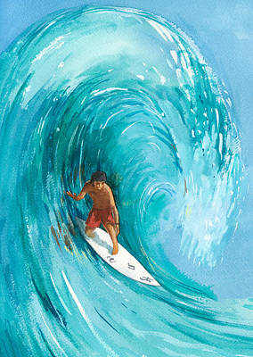 Kahuna Painting - The Big One by Ray Cole