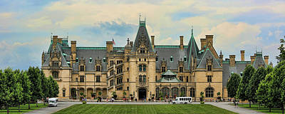 The Biltmore House Print by Stephen Stookey