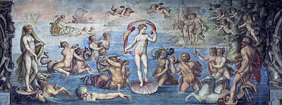 Giorgio Vasari Painting - The Birth Of Venus by Giorgio Vasari