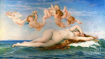 The Birth Of Venus Print by Granger