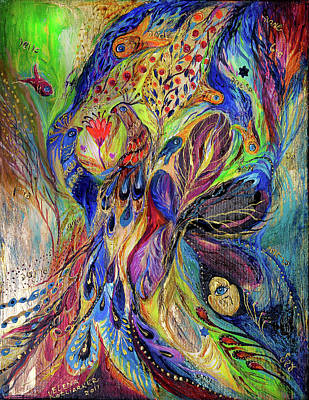 The Black Iris Print by Elena Kotliarker