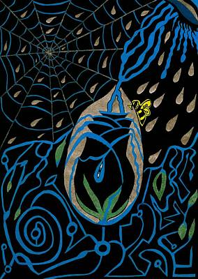 The Black Rose Print by Michelle Meaney