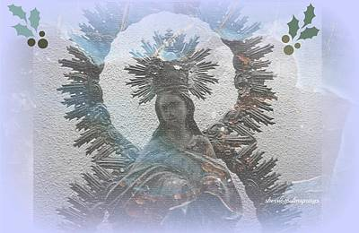 The Blessed Mother Print by Sherri  Of Palm Springs