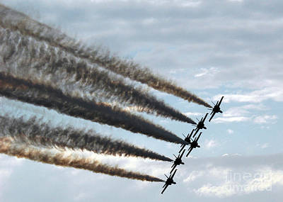 the Blue Angels  Print by Celestial Images