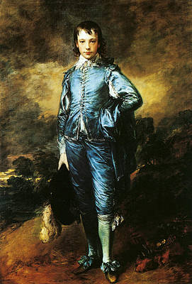 18th Century Painting - The Blue Boy by Thomas Gainsborough