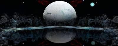 The Blue Moon  Original by Daniel  Arrhakis
