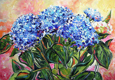 Painting - The Blues by Laurie Pace