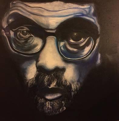 The Blues Man Print by Ebony Thompson
