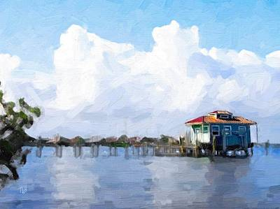 Painting - The Boat House by Tammy Lee Bradley