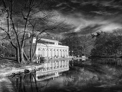 The Boathouse Of Prospect Park Print by Jessica Jenney