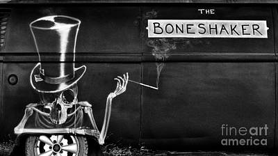 Mural Photograph - The Bone Shaker by Tim Gainey
