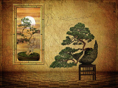 Bonsai Photograph - The Bonsai Room by Jessica Jenney