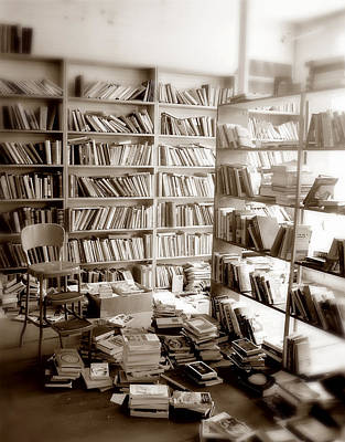 Mess Photograph - The Book Store by Mark Wagoner