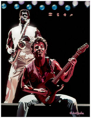 The Boss '85 Print by Joe Roselle