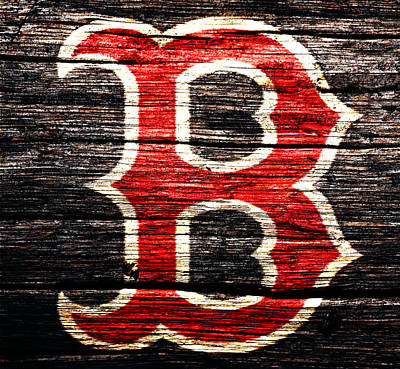 The Boston Red Sox 2a Print by Brian Reaves