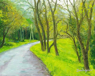 The Boulevard At Eaglemont Original by Dai Wynn