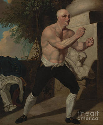 Fists Painting - The Boxer by Celestial Images
