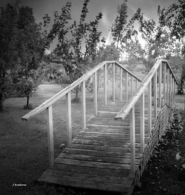 The Bridge 2 Print by John Krakora