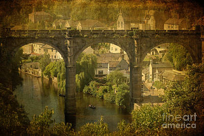 Knaresborough Photograph - The Bridge At Knaresborough by Liz Alderdice