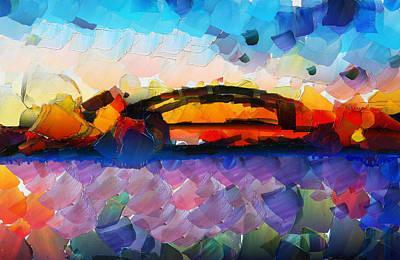 The Bridge I Will Cross Original by Sir Josef - Social Critic - ART