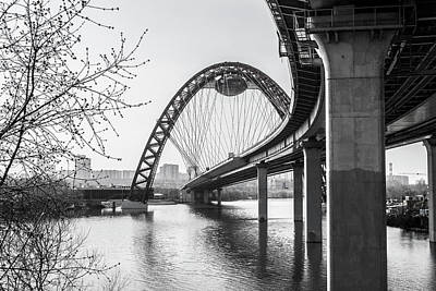 Black Photograph - The Bridge by Konstantin Bibikov