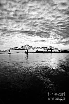 South Louisiana Photograph - The Bridge by Scott Pellegrin