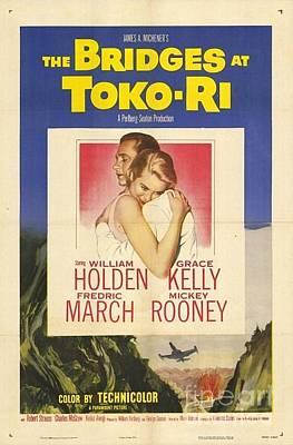 Grace Kelly Painting - The Bridges At Toko Ri by Nostalgic