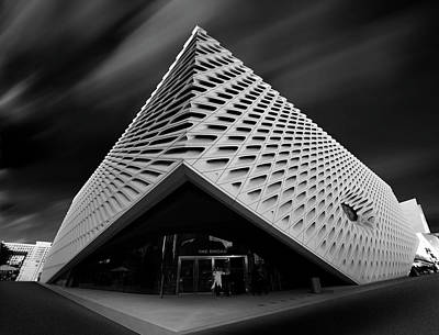 Photograph - The Broad Museum by Jerome Obille