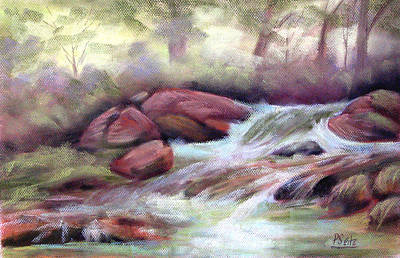The Brook Print by Patricia Seitz