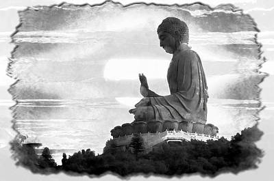 Photograph - The Buddha's Blessing by Mario Carini