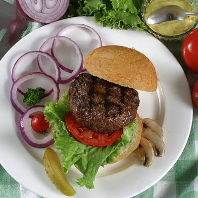 The Burger 2 Print by Jack Dagley