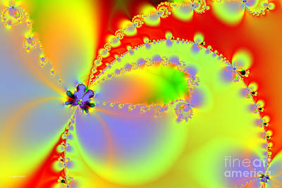 Butterfly Digital Art - The Butterfly Effect . Summer by Wingsdomain Art and Photography