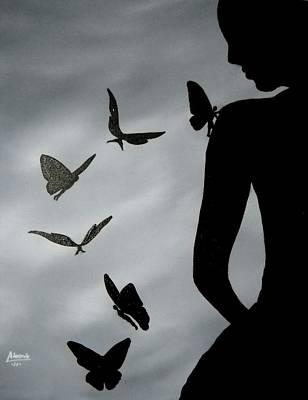 The Butterfly Men Original by Edwin Alverio