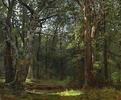 William Ranney Painting - The Buttonwood Grove by William Ranney