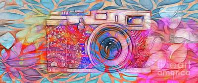 Digital Art - The Camera - 02v2 by Variance Collections