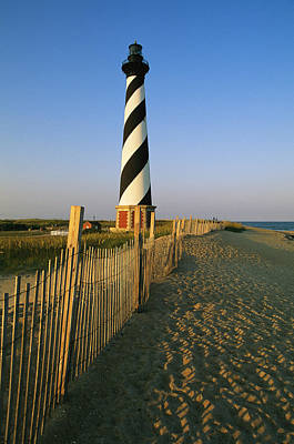 National Seashore Photograph - The Cape Hatteras Lighthouse by Steve Winter