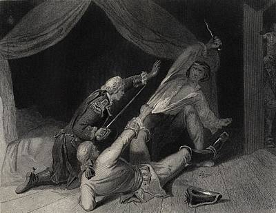 Lord Drawing - The Capture Of Lord Edward Fitzgerald by Vintage Design Pics