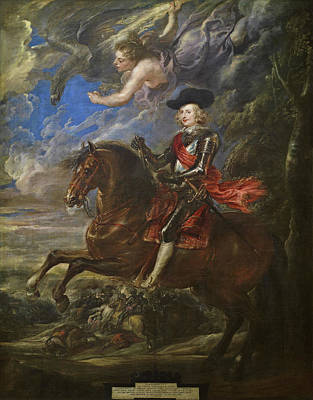 Man Painting - The Cardinal-infante Don Fernando De Austria by Peter Paul Rubens
