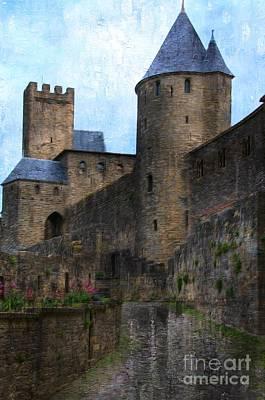 The Castle Print by Daniela White