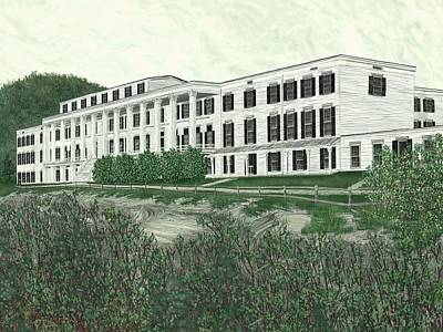 The Catskill Mountain House Print by Jamison Smith