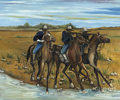 The Cavalry Print by Toni  Thorne