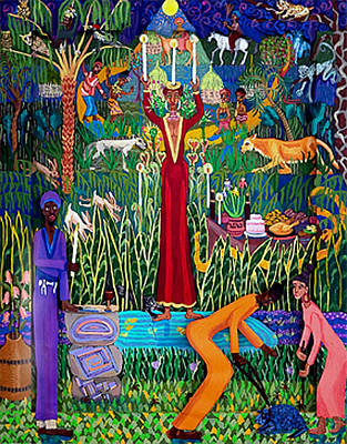 The Celebration Original by Maria Alquilar