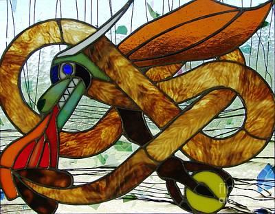 The Celtic Dragon Print by Kelvin Mays