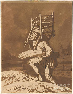 The Chairmender Print by Celestial Images